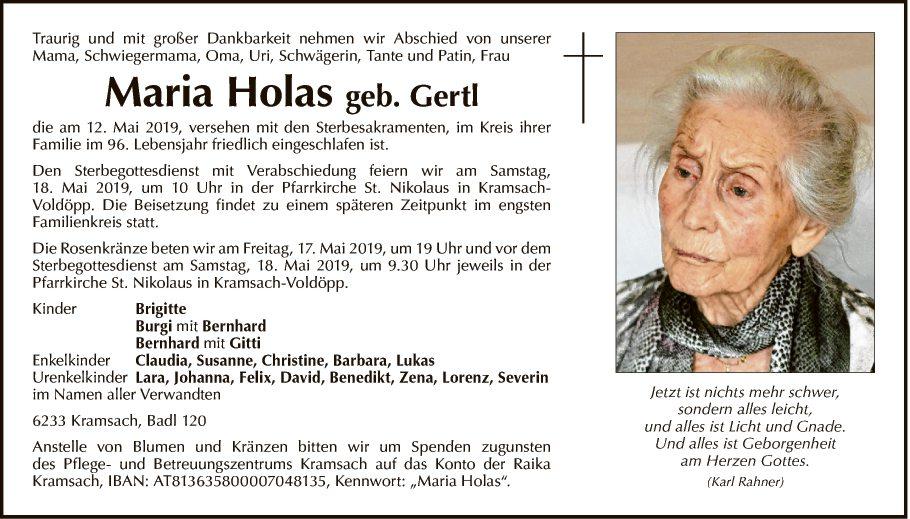 Maria Holas