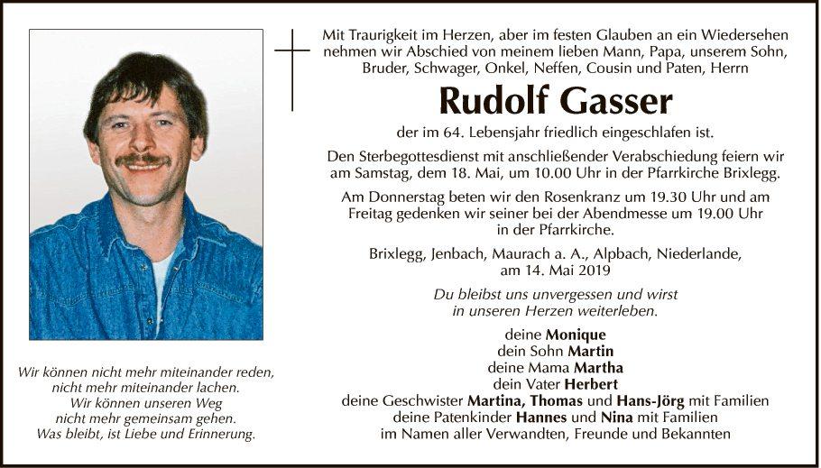 Rudolf Gasser