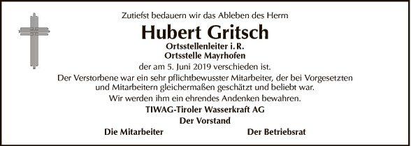 Hubert Gritsch