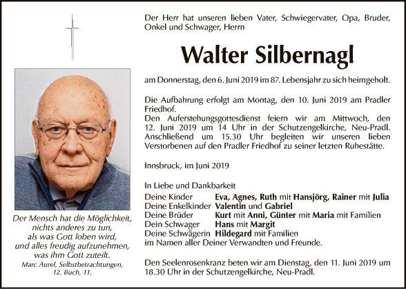 Walter Silbernagl