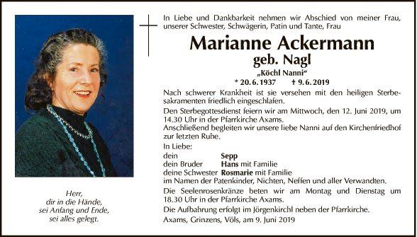 Marianne Ackermann