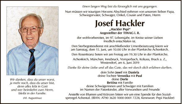 Josef Hackler