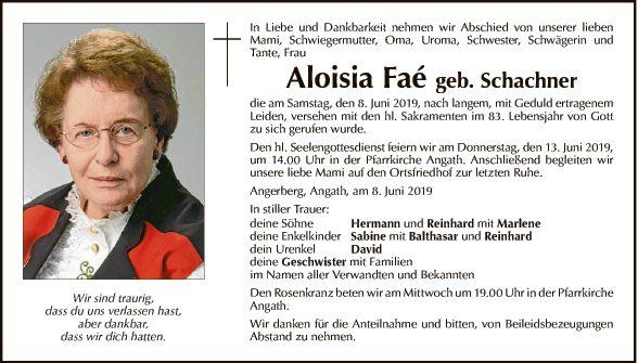 Aloisia Faé