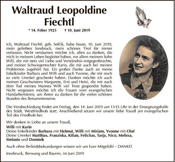 Waltraud Fiechtl