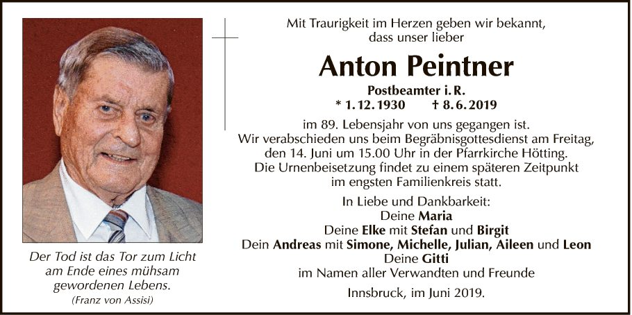 Anton Peintner
