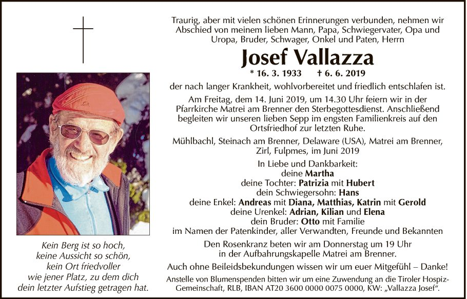 Josef Vallazza