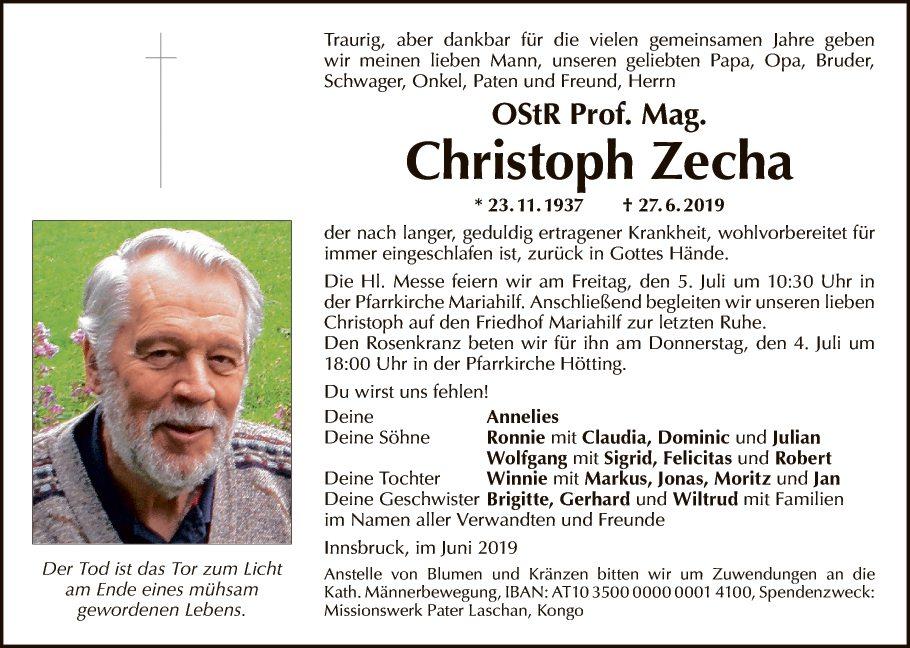Christoph Zecha