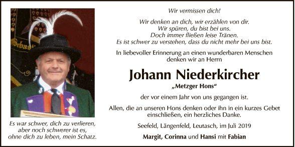 Johann Niederkircher