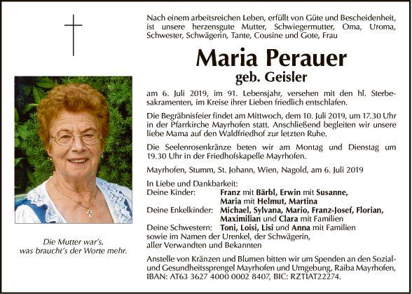 Maria Perauer