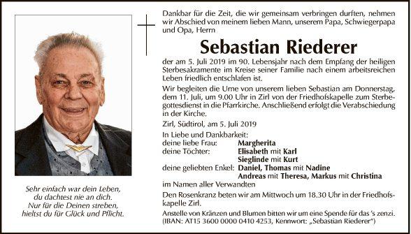 Sebastian Riederer