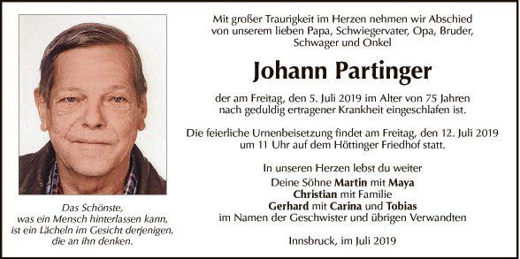 Johann Partinger