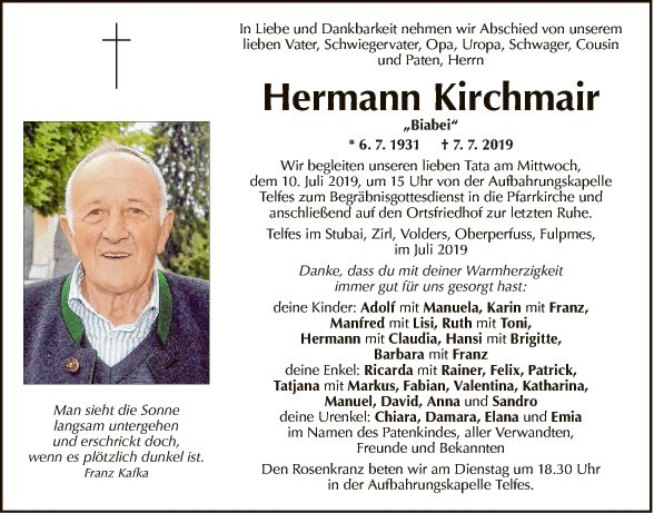 Hermann Kirchmair