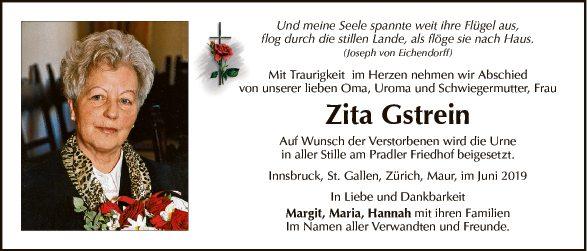 Zita Gstrein