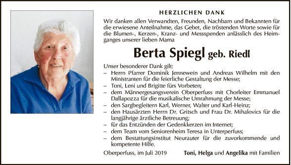 Berta Spiegl