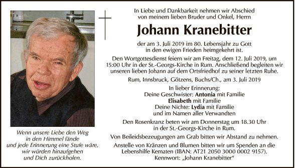 Johann Kranebitter