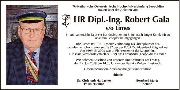 HR Dipl.-Ing. Robert Gala