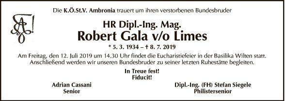 Dipl. Ing. Mag. Robert Gala