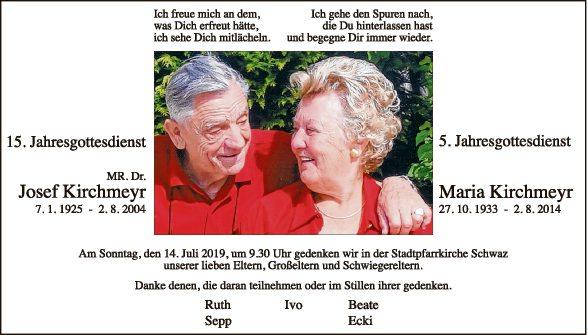 Maria und Josef Kirchmeyr