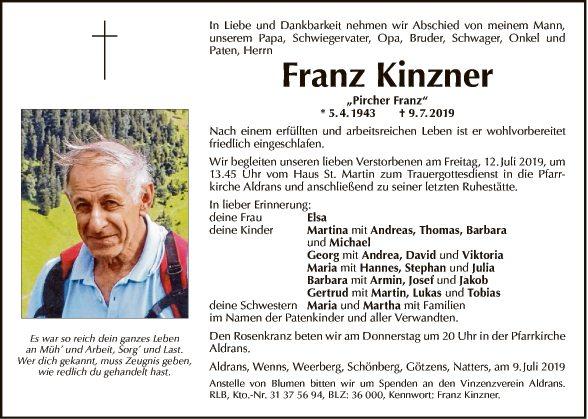 Franz Kinzner