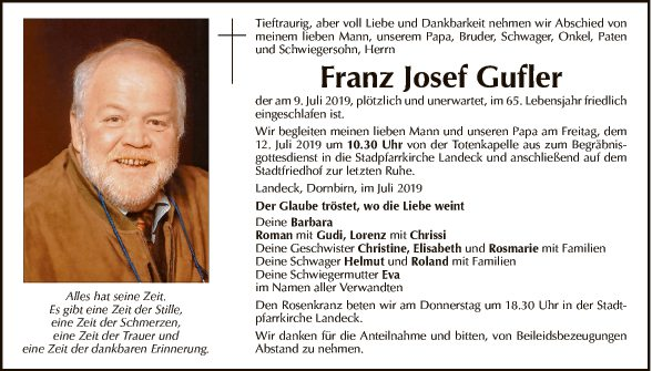 Franz Josef Gufler
