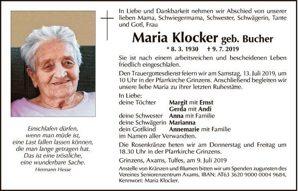Maria Klocker