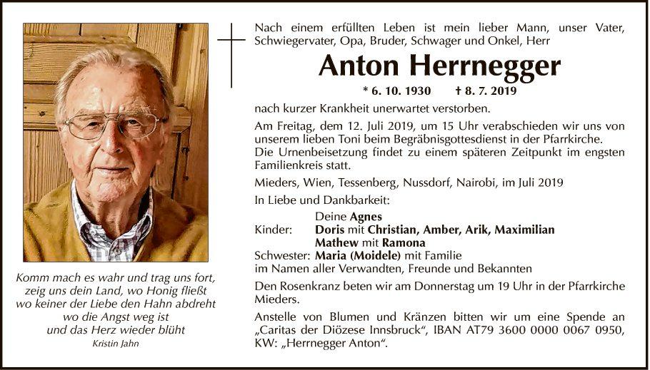 Anton Herrnegger