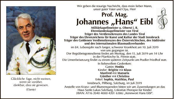 Johannes Eibl